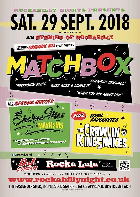Matchbox Poster