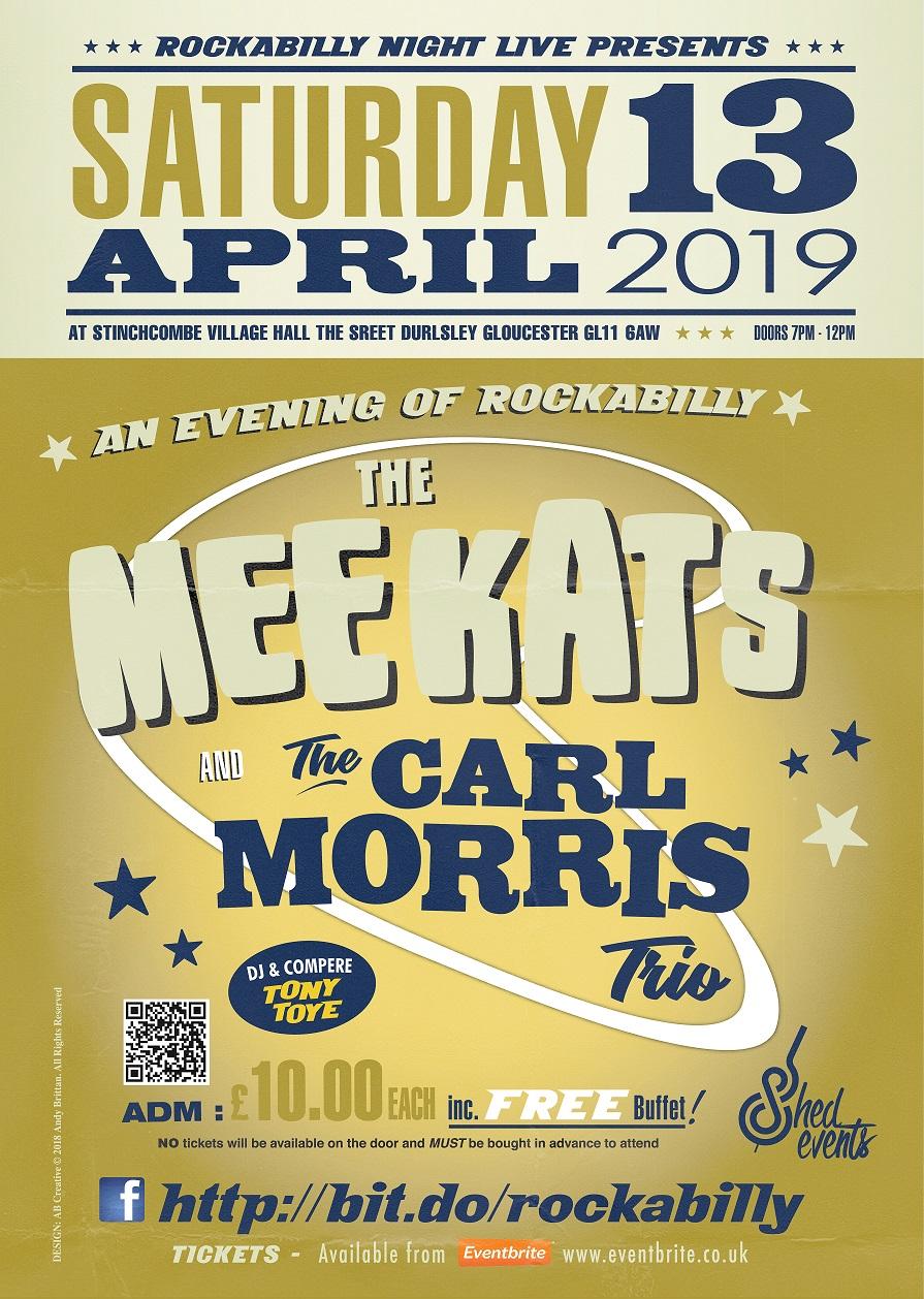 Event Poster Meekats