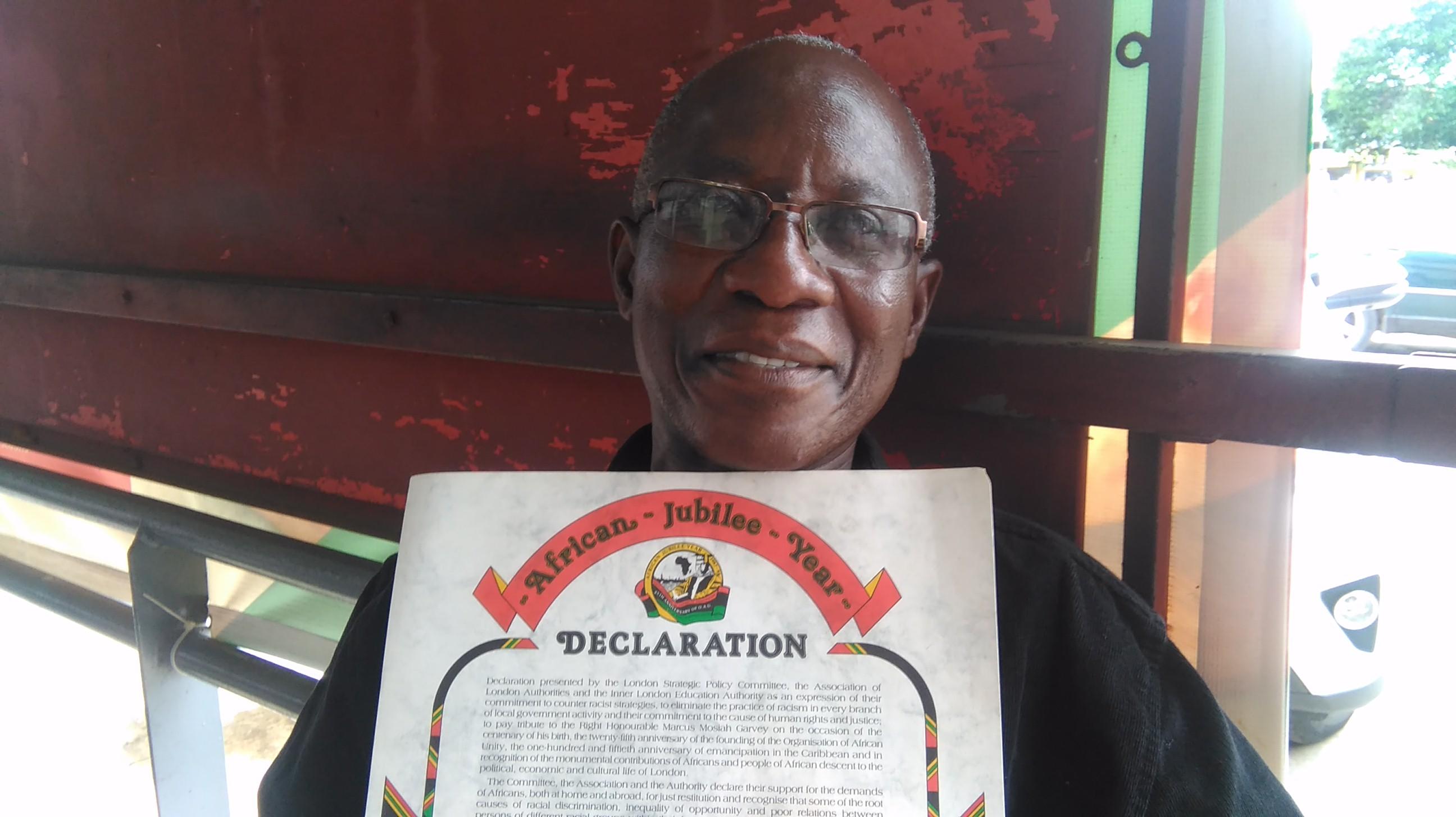 Addai Sebo with AJY Declaration by Kwaku 2018