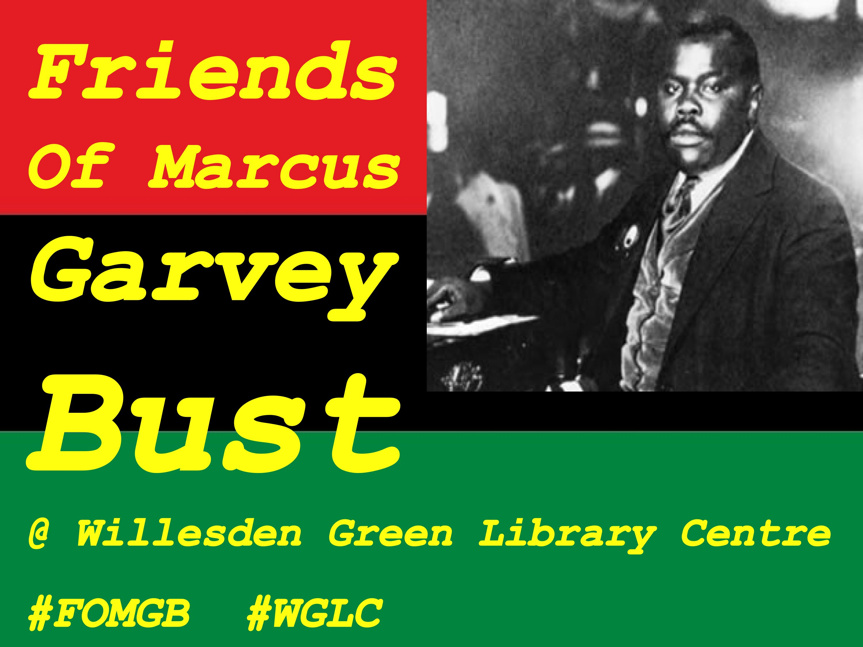 friends of marcus garvey bust