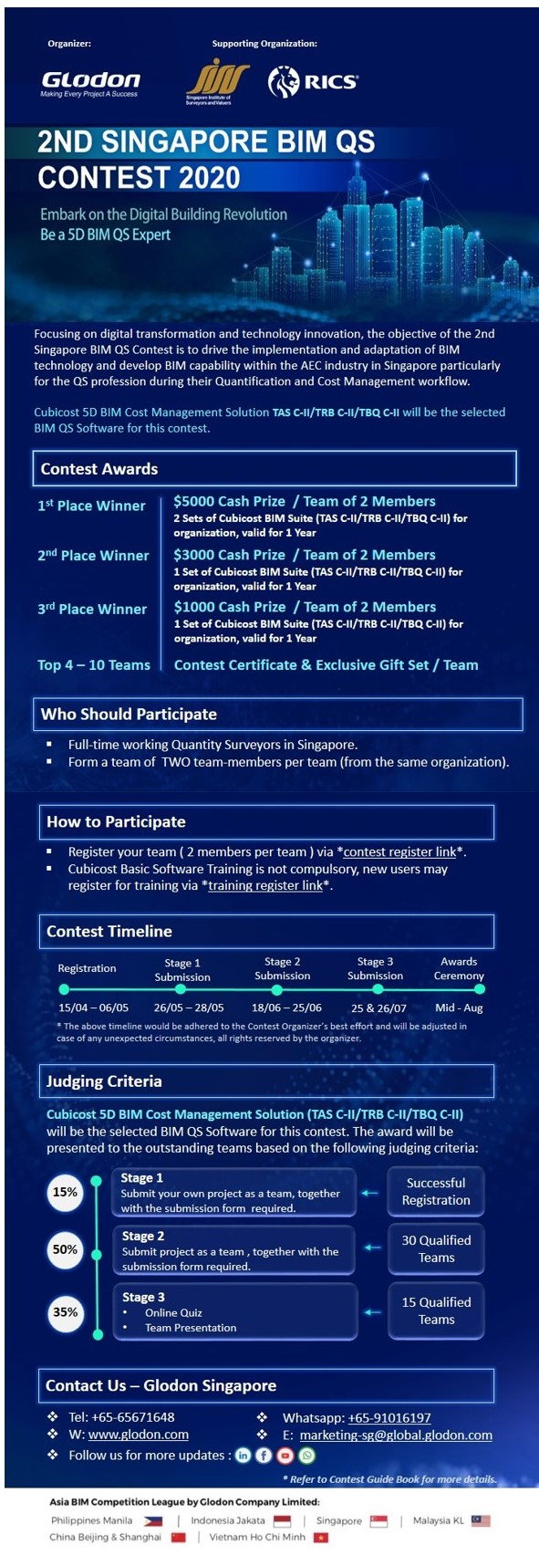 Singapore BIM QS Contest 2020