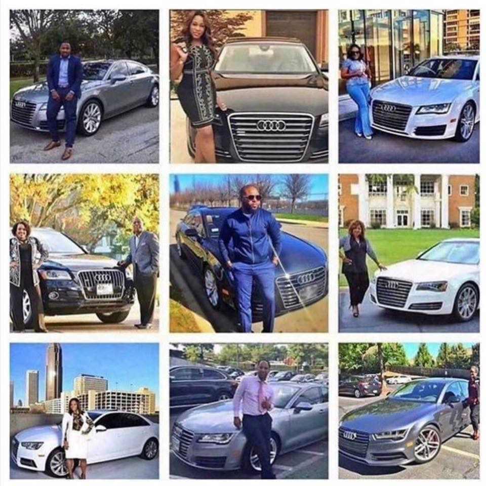 Our Business Partners in their company paid for Audi