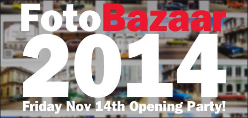 FotoBazaar 2014 Opening Party