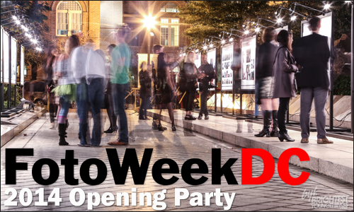 FotoWeek DC 2014 Opening Party