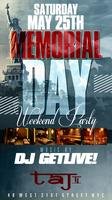 SATURDAY PRE MEMORIAL DAY PARTY @ TAJ II LOUNGE (FREE BEFORE...