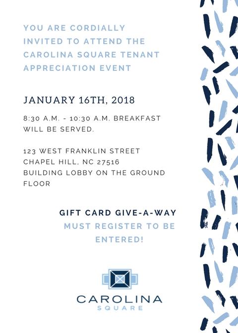Tenant Event Invite