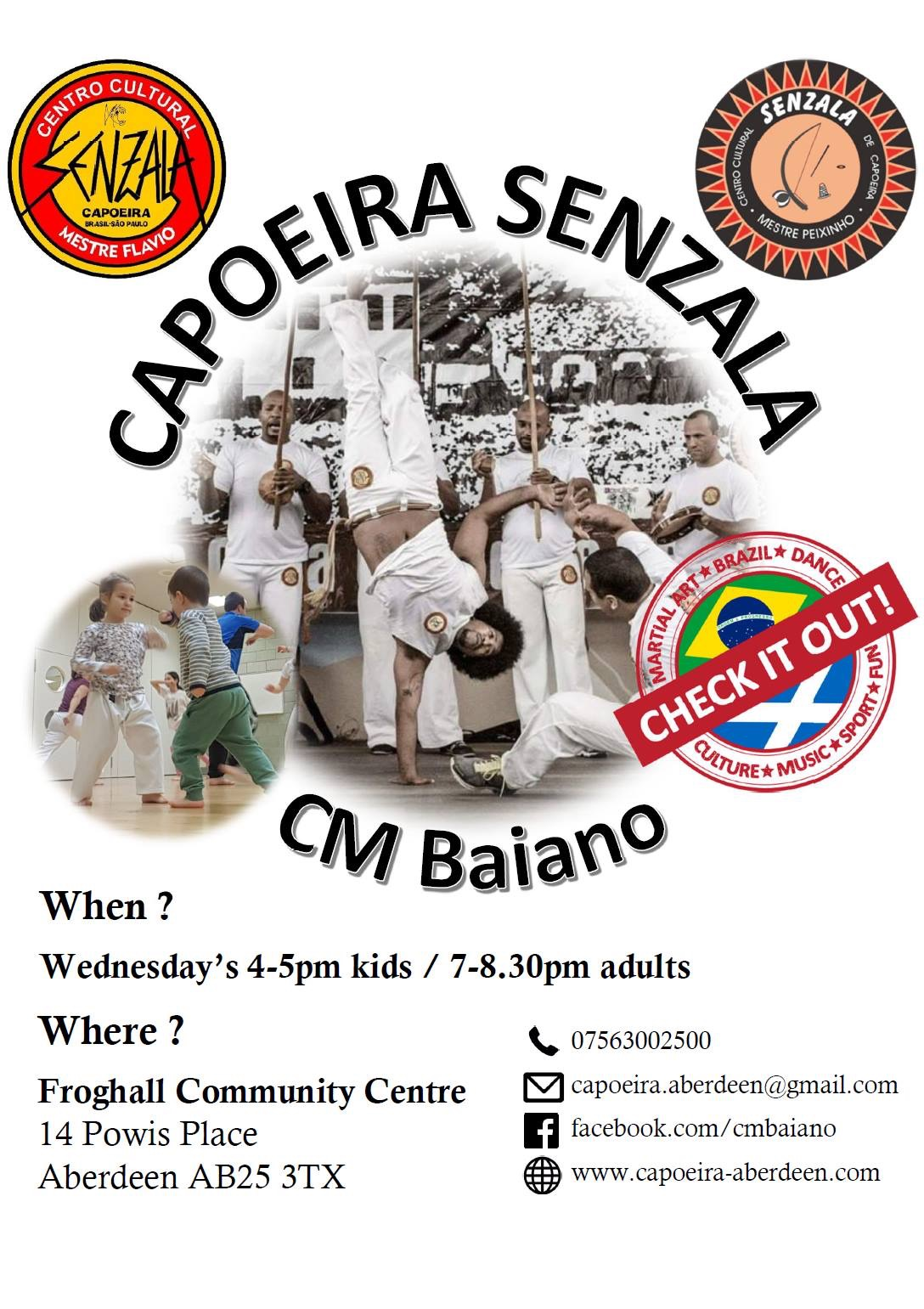 Capoeira Senzala for Adults