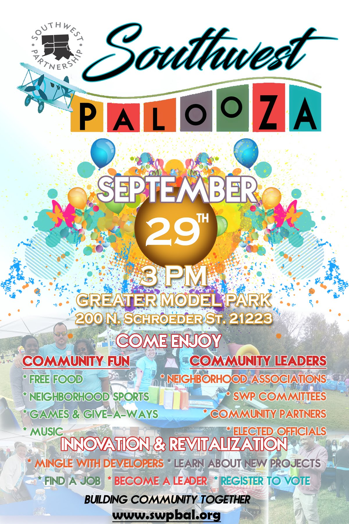 Southwest Palooza Flyer