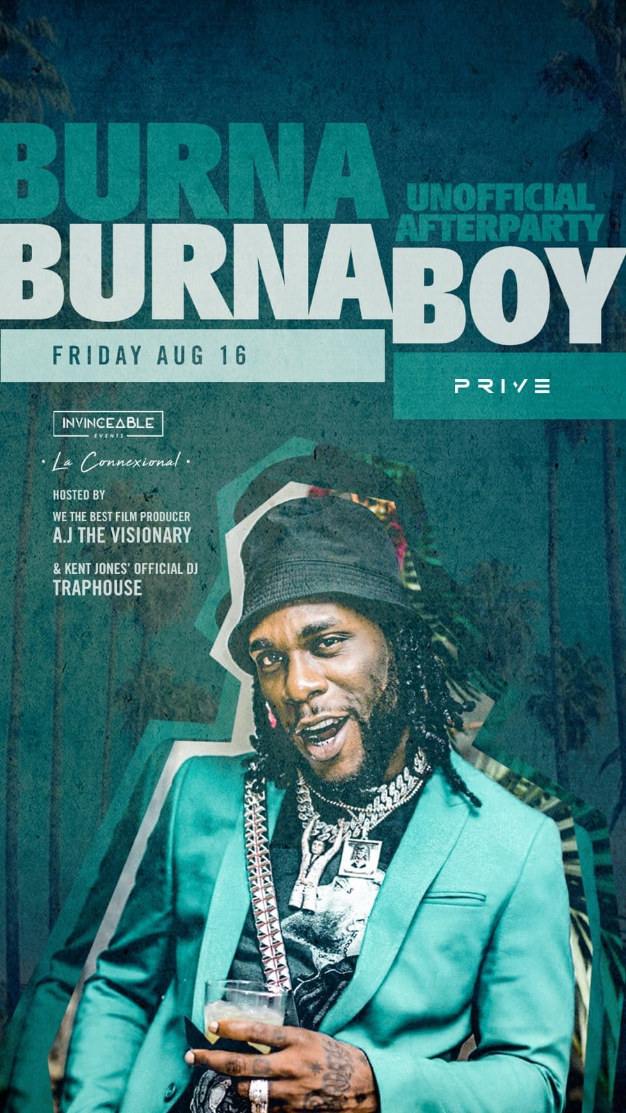 Burnaboy Unofficial After Party