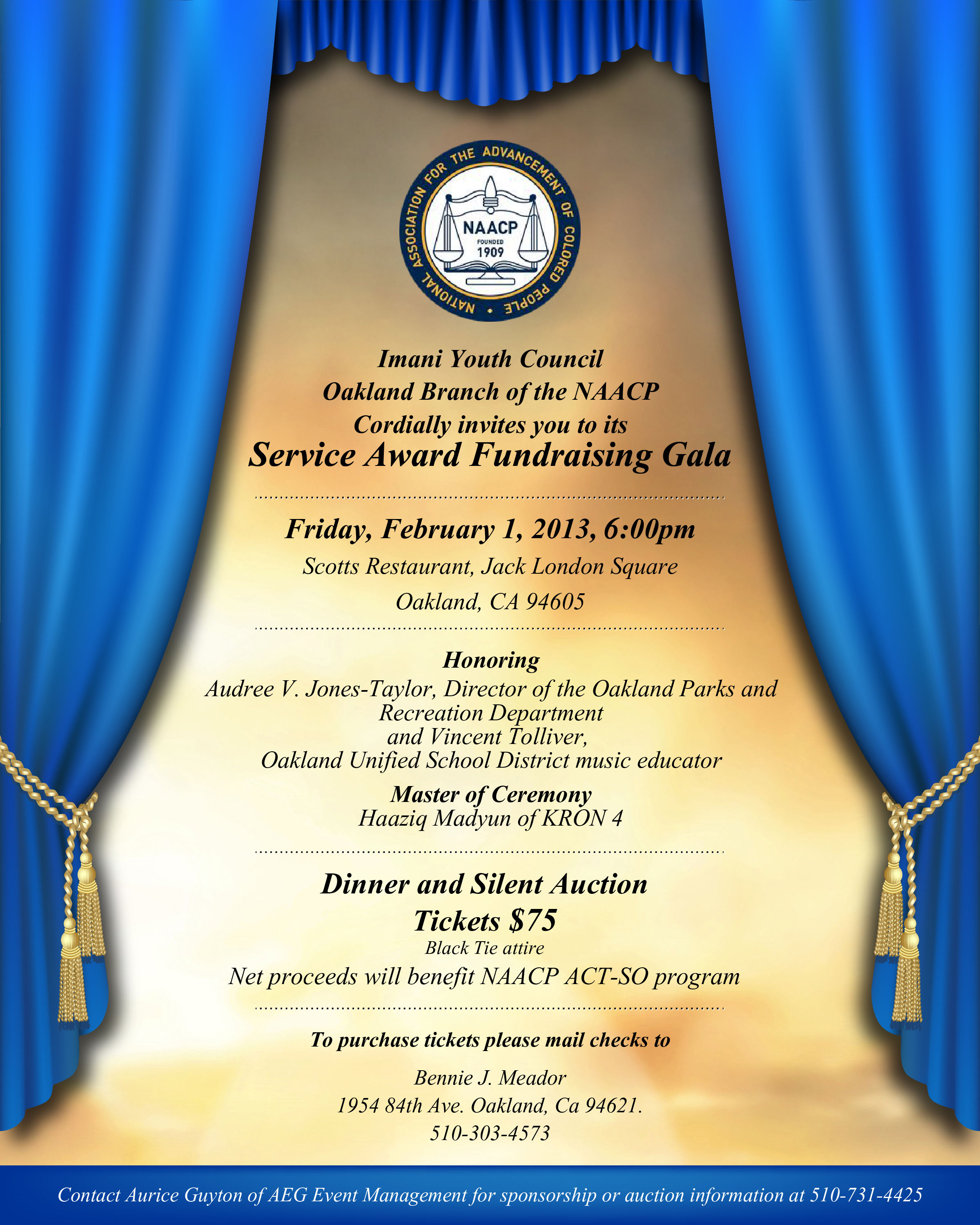 NAACP Service Award Browser
