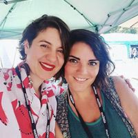Camila Araya Perez and Daniela del Mar, Founders of Letra Chueca Press
