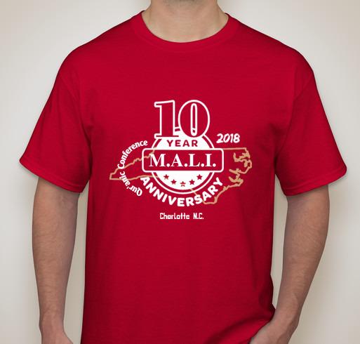 M.A.L.I. 2018 - 10th Anniversary T-shirt