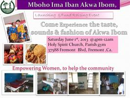 Food, Fashion, Dance,Mboho Ima Iban Akwa Ibom, Launching & Fund...