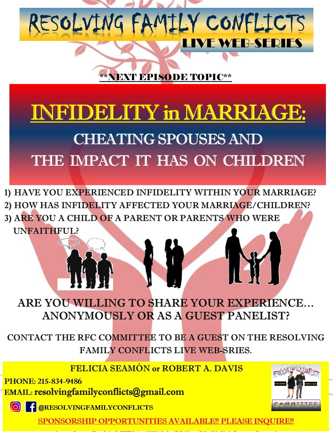 Infidelity full flyer