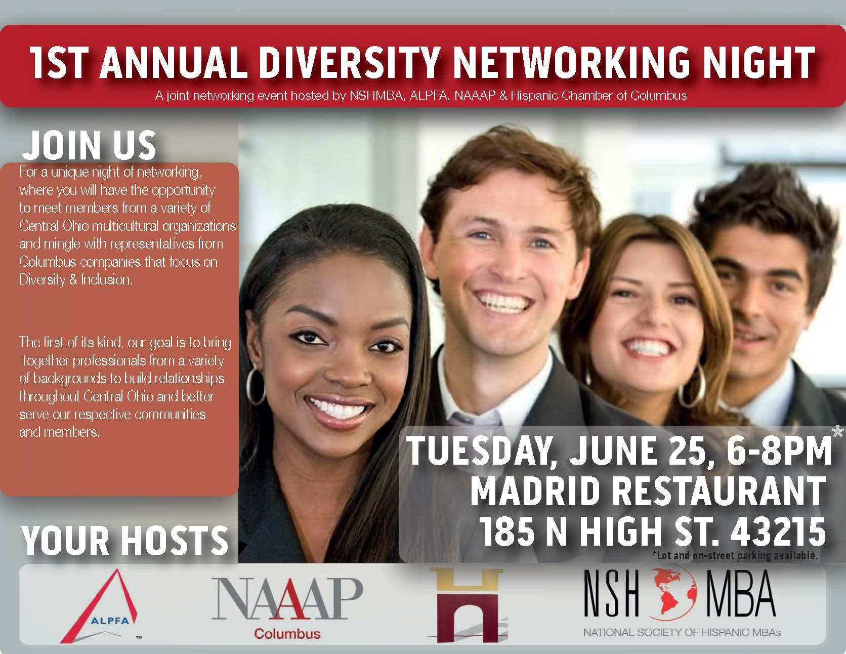 NSHMBA Diversity Event Flyer Invite