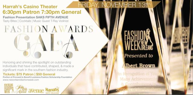 New Orleans Fashion Awards Gala