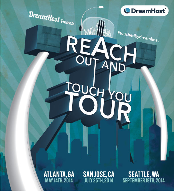 Reach Out Tour Poster