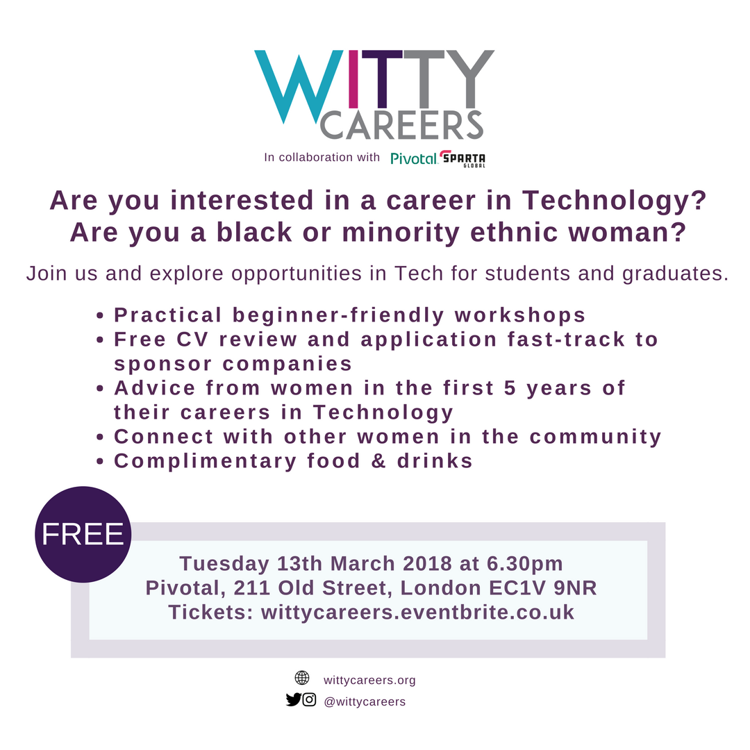 Witty Careers Evening