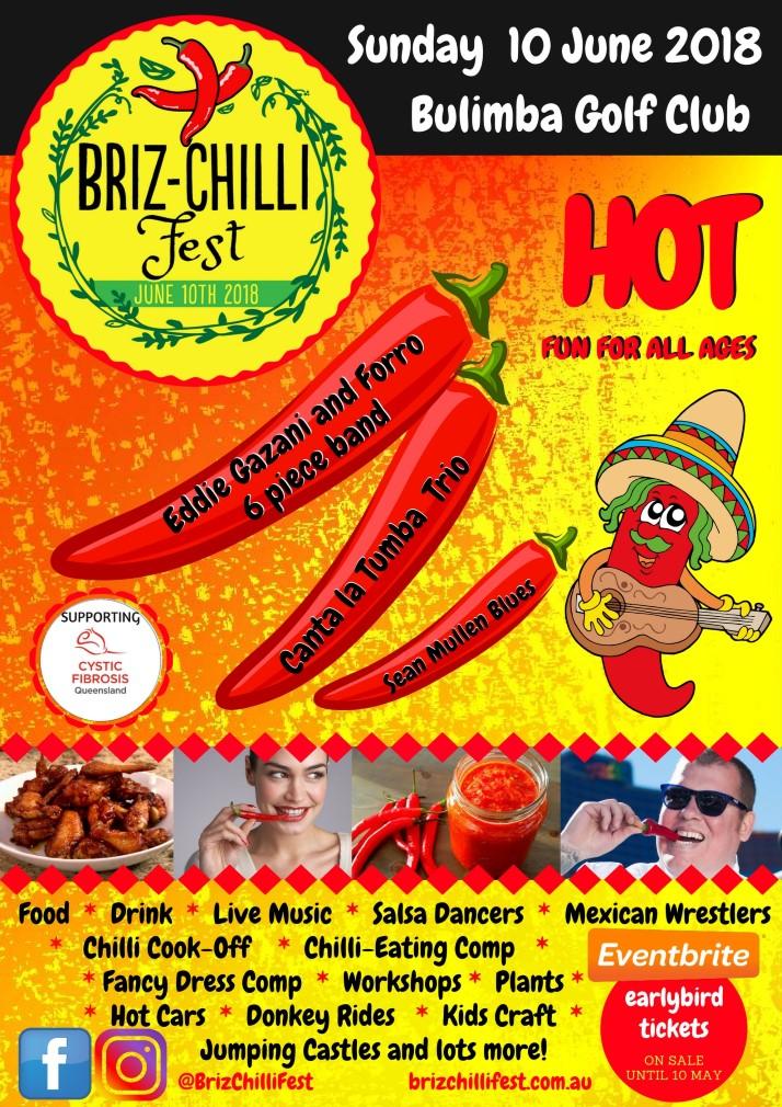 Briz Chilli Fest Poster