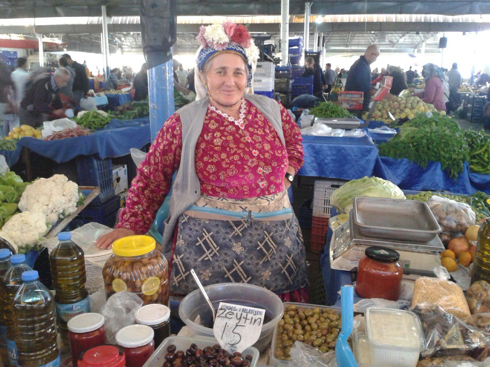 The local market near Gumusluk