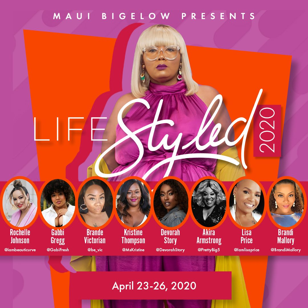 Life Styled Honors 2020 flyer