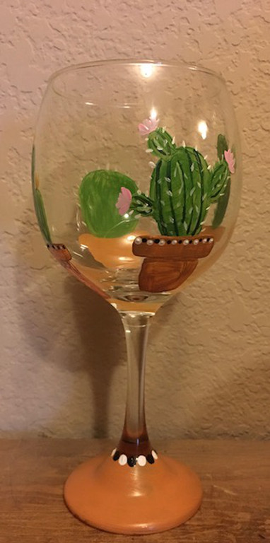 Wine Glass Painting Class At Peace Water Winery 7 7 130 Pm