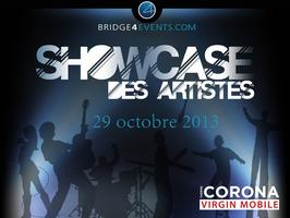 Le Showcase des Artistes de Bridge4Events