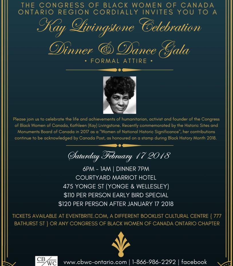 Kay Livingstone Gala Flyer