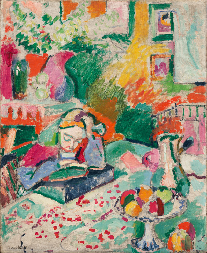 Interior with a Young Girl painting by Henri Matisse