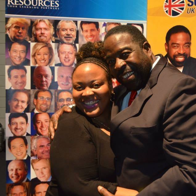 Award Winning Author Winsome Duncan and Les Brown