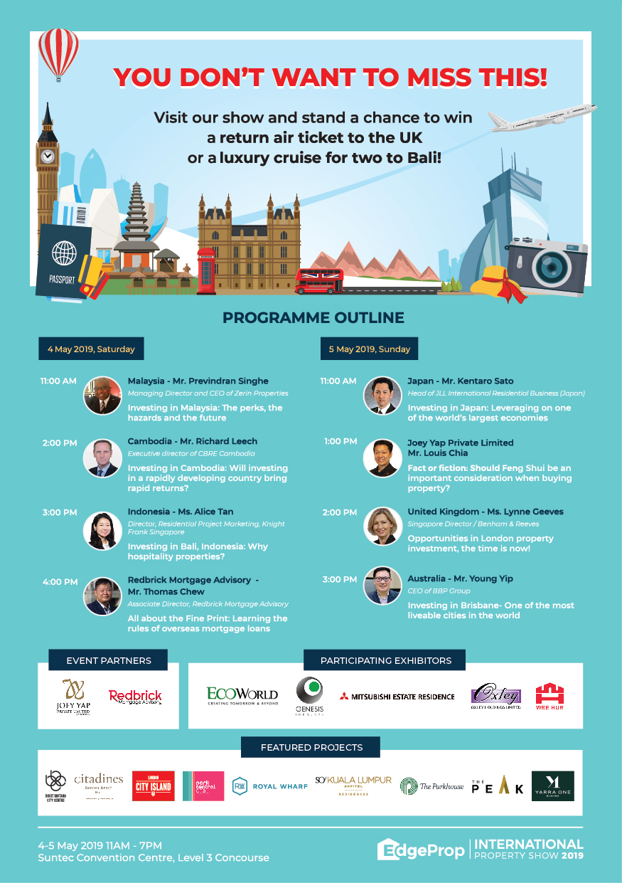 International Property Show 2019 Program Flow