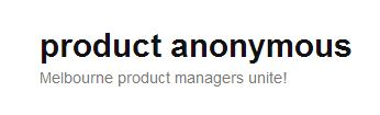 Product Anonymous Logo