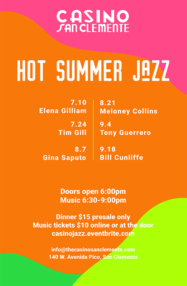 Casino 2019 Hot Summer Jazz Lineup
