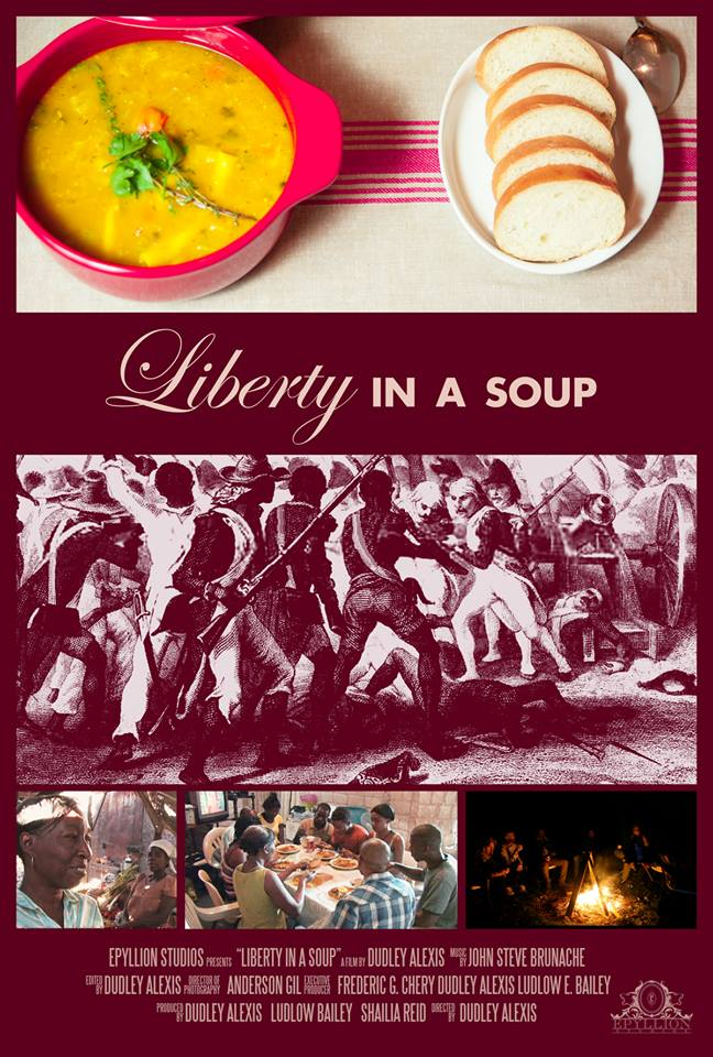 Liberty in a Soup Film Poster