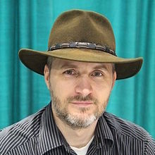 Dan Wells and his hat