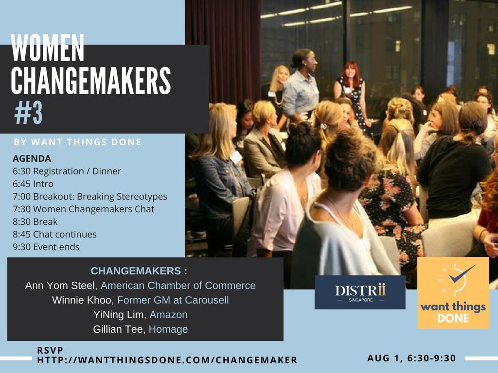 Women Changermakers III - Agenda