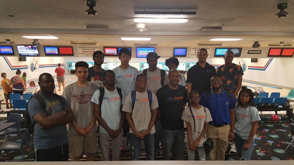 TechCORE2 H.S. Internship Summer 2016 Bowling Party