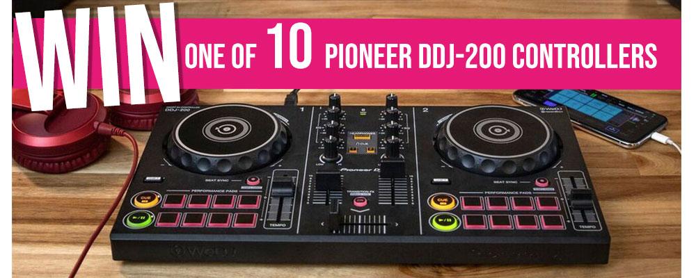 win a pioneer ddj-200