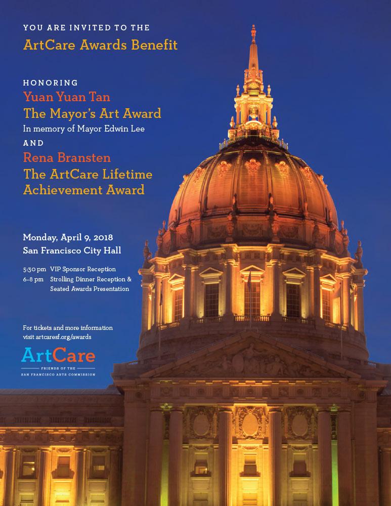 ArtCare Awards Benefit 2018