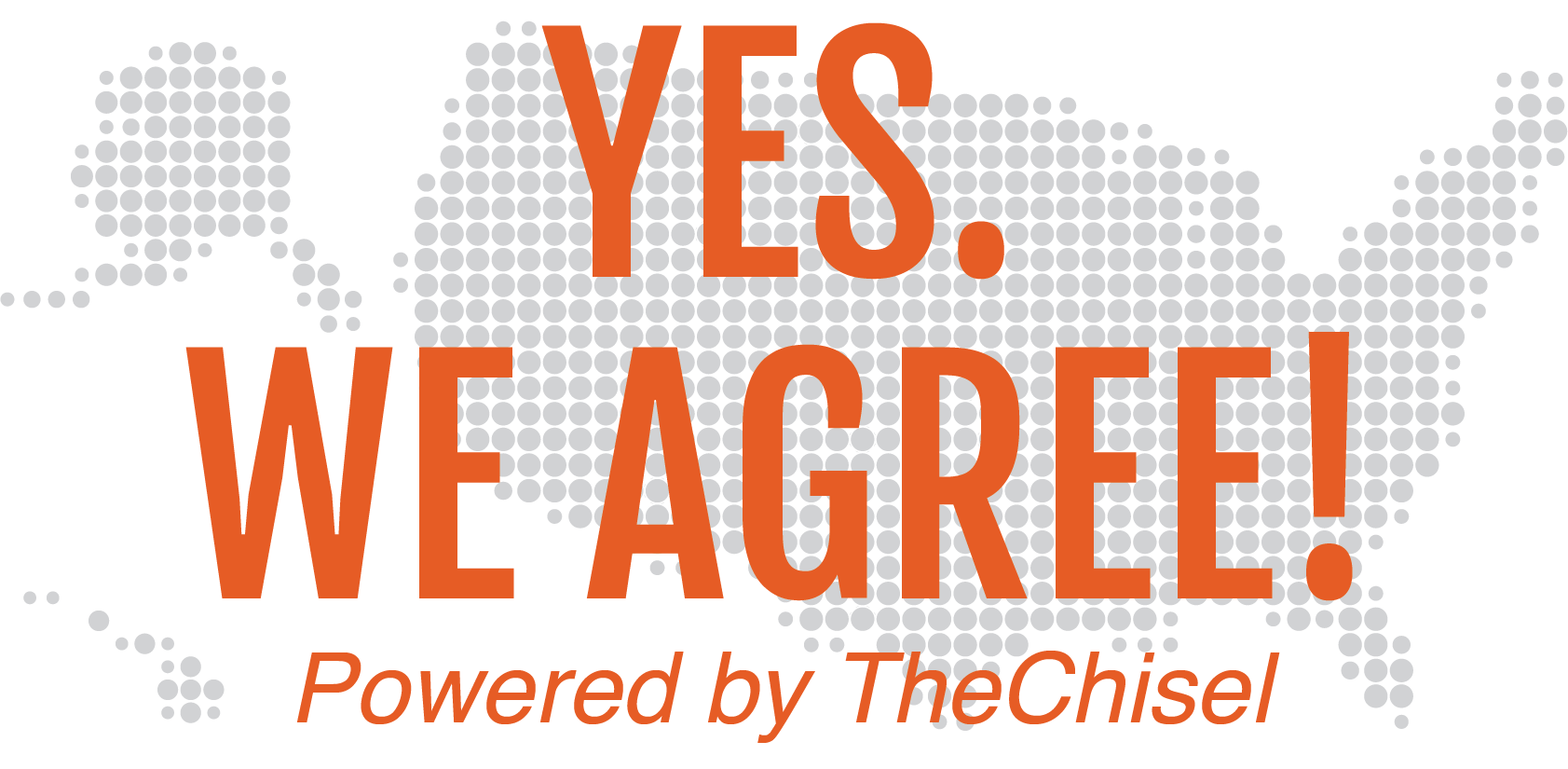 TheChisel's YesWeAgree Campaign