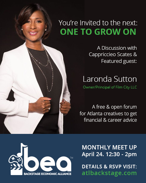 Laronda Sutton to speak at APril 2018 BEA Monthly Meet Up