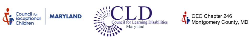 CEC MD, CLD MD, Montgomery Co. CEC