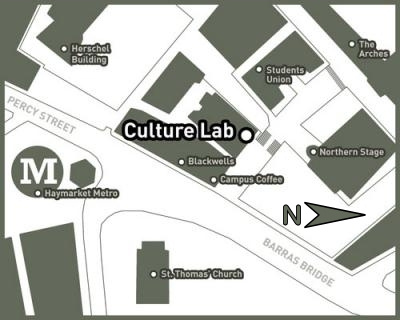Culture Lab map