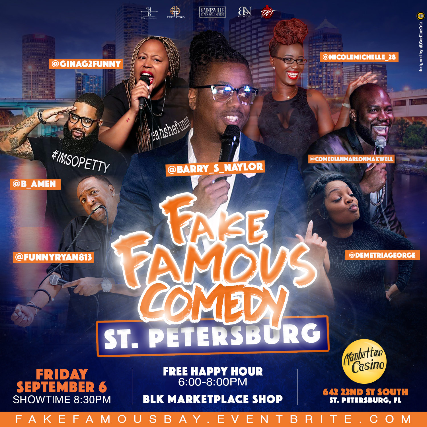 Fake Famous Comedy St Pete