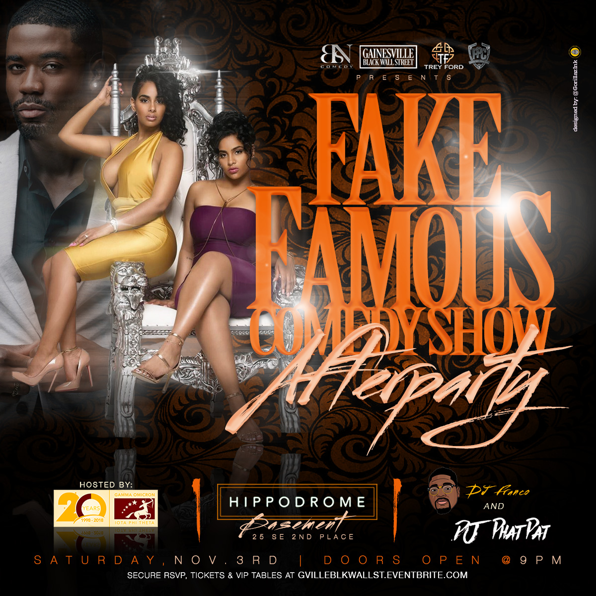 Fake Famous Comedy Afterparty