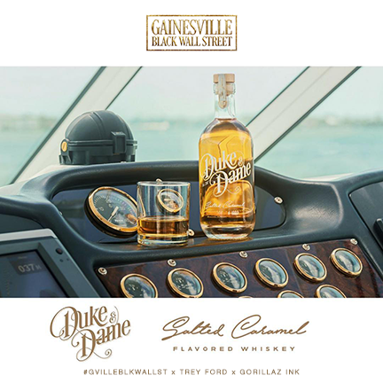 Duke and Dame Salted Caramel Whiskey