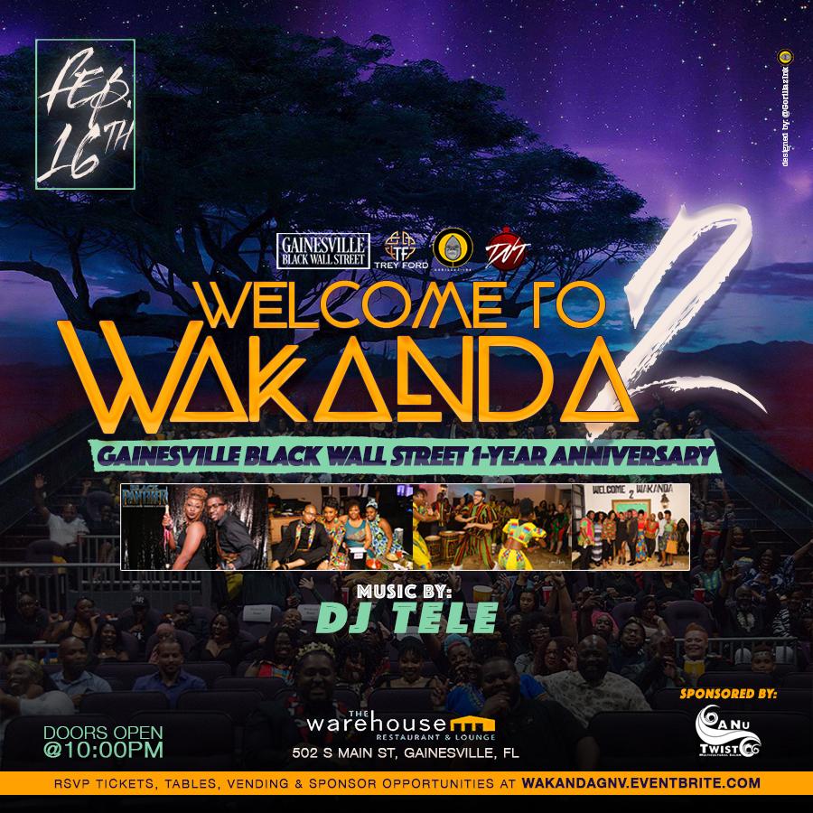 Welcome to Wakanda II