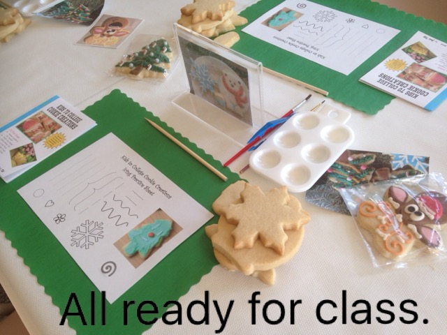 Cookie Decorating Class - Kids to College Cookie Creations