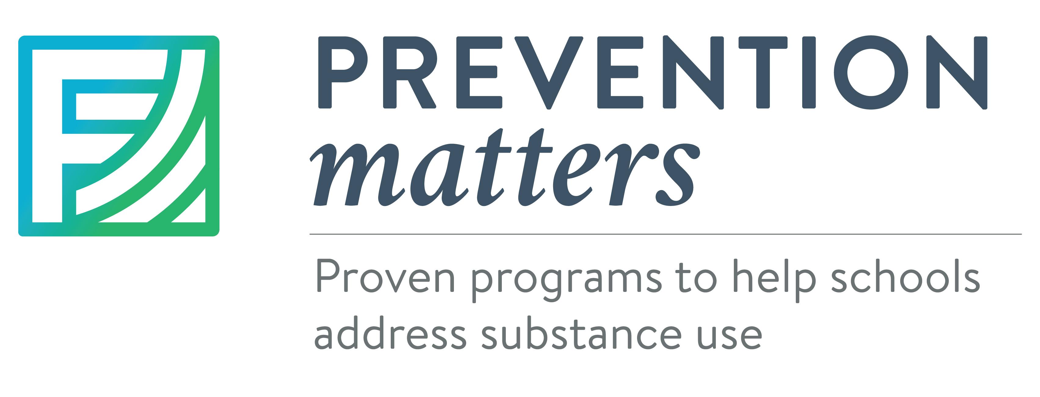 Prevention Matters Logo