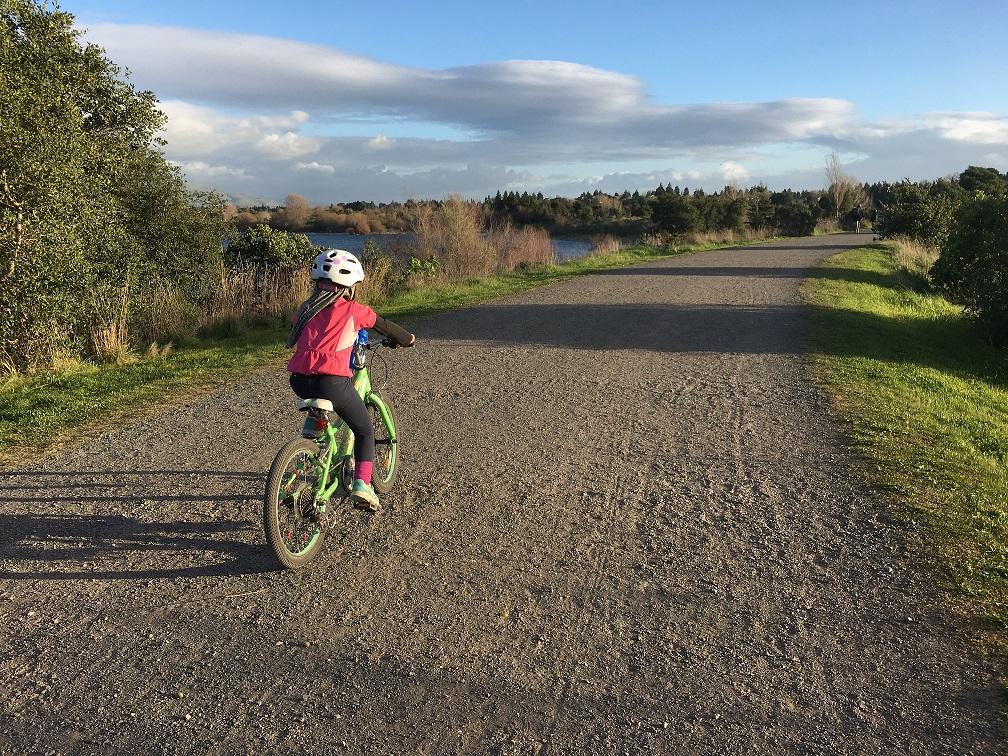 Quarry Lakes Bike Riding